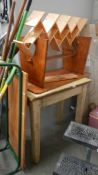 A quantity of old pine furniture (collect only)