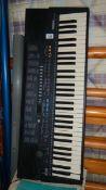 A Yamaha table organ,