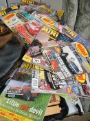 A quantity of Mini magazines.
