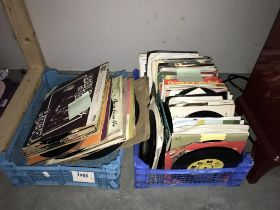 """A large lot of 7"""" records (150+) and approximately 40 x 10"""" records"""