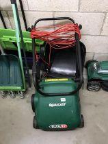 A Qualcast Glen 32 lawn mower