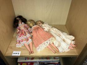 2 Tressy dolls & a Sindy doll