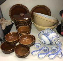 A quantity of Hornsea dinnerware,