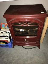 A warmlite vintage style electric heater