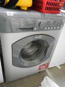 A grey Hotpoing Aquarius 6kg washing machine (WML 540) ****Condition report**** Good