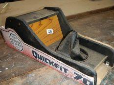 "A ""Quickfit 70"" car centre console, circa 1970's."
