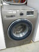 A Samsung 'Eco bubble' washing machine,.
