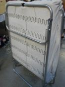 A single folding bed in good condition,.