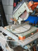 An Elu Flip-over saw, works but attention needed as stood for a while.