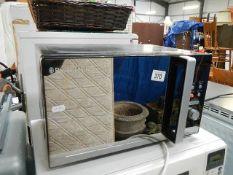 A Russell Hobbs 800 watt microwave oven.