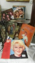 A mixed lot of LP records including The Three Degrees, Peggy Lee, Grease, Dion Warwick,