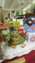 A good lot of old tins.