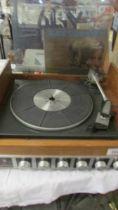 A Garrard record player,