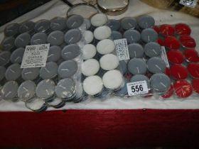 A quantity of tea lights.