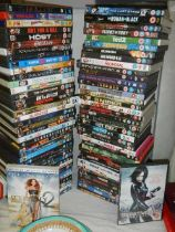 In excess of 80 DVD's.