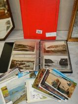 A mixed lot of postcards including Cornwall and other scenes.