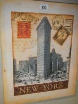 A New York poster.