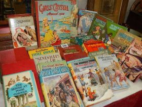 A mixed lot of children's books.