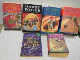 Six Harry Potter books.