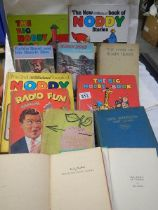 A quantity of children's books including Noddy.