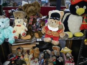 A good lot of soft toys.