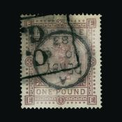 Great Britain - QV (surface printed)