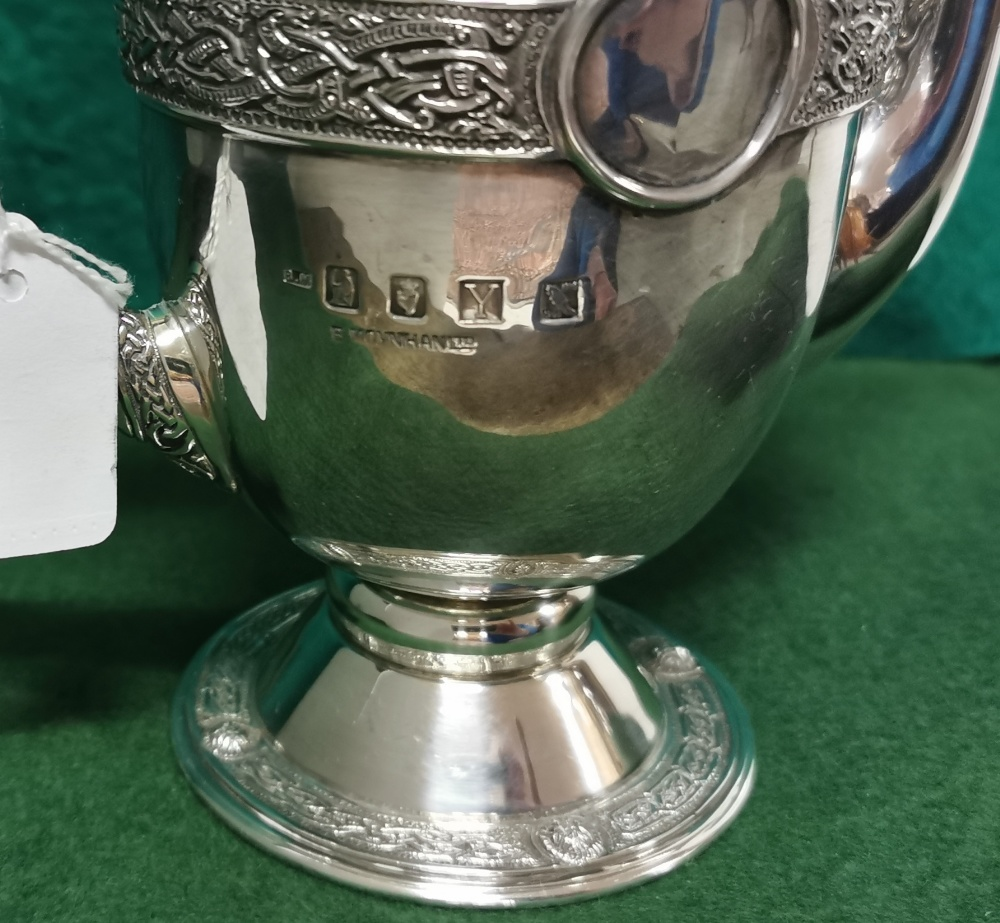 A 1916 Irish Silver Commemorative Tea Pot by B Moynihan Ltd, Dublin 1966, featuring the Ardagh - Image 3 of 4