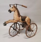 Early 20th C. Child's pedal horse.