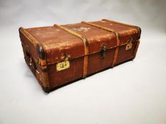 1950s travelling trunk.