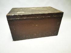 Early 20th C. travelling trunk.