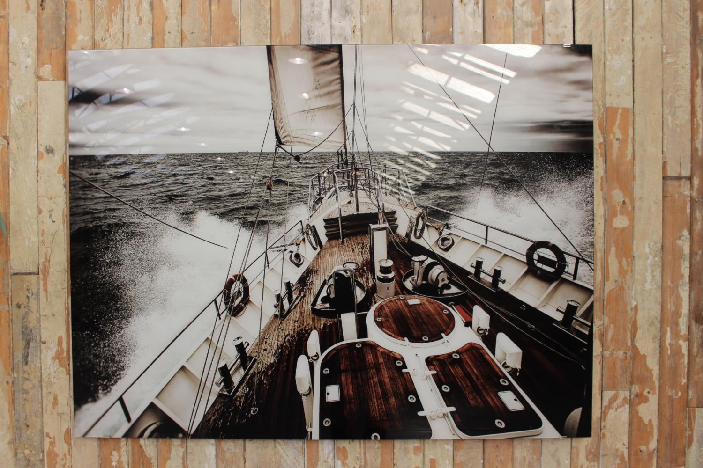 Modern marine scene - Image 2 of 2