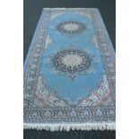 Decorative carpet runner.