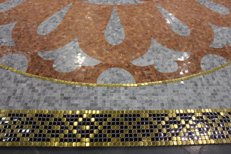 Floor mosaic - Image 2 of 3