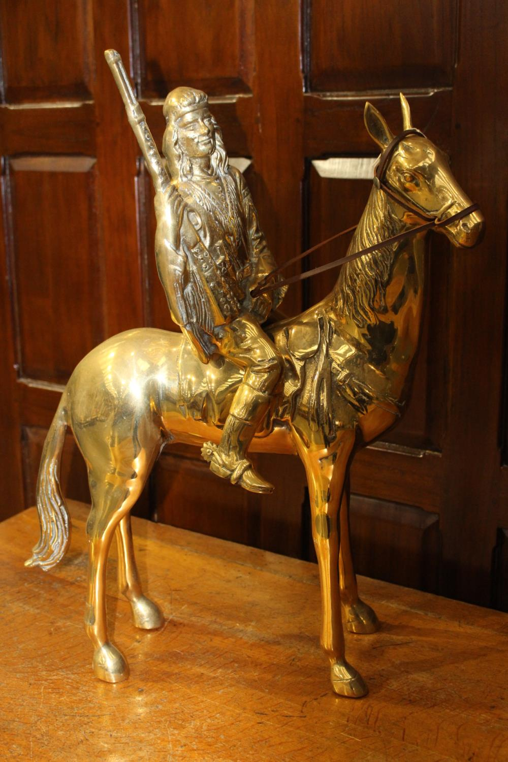 Brass model of horse - Image 2 of 4
