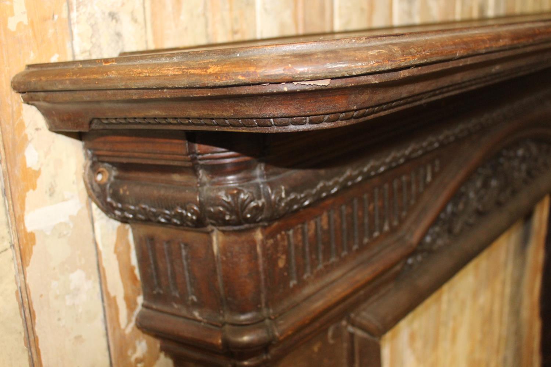 Cast iron decorative chimney piece - Image 3 of 3