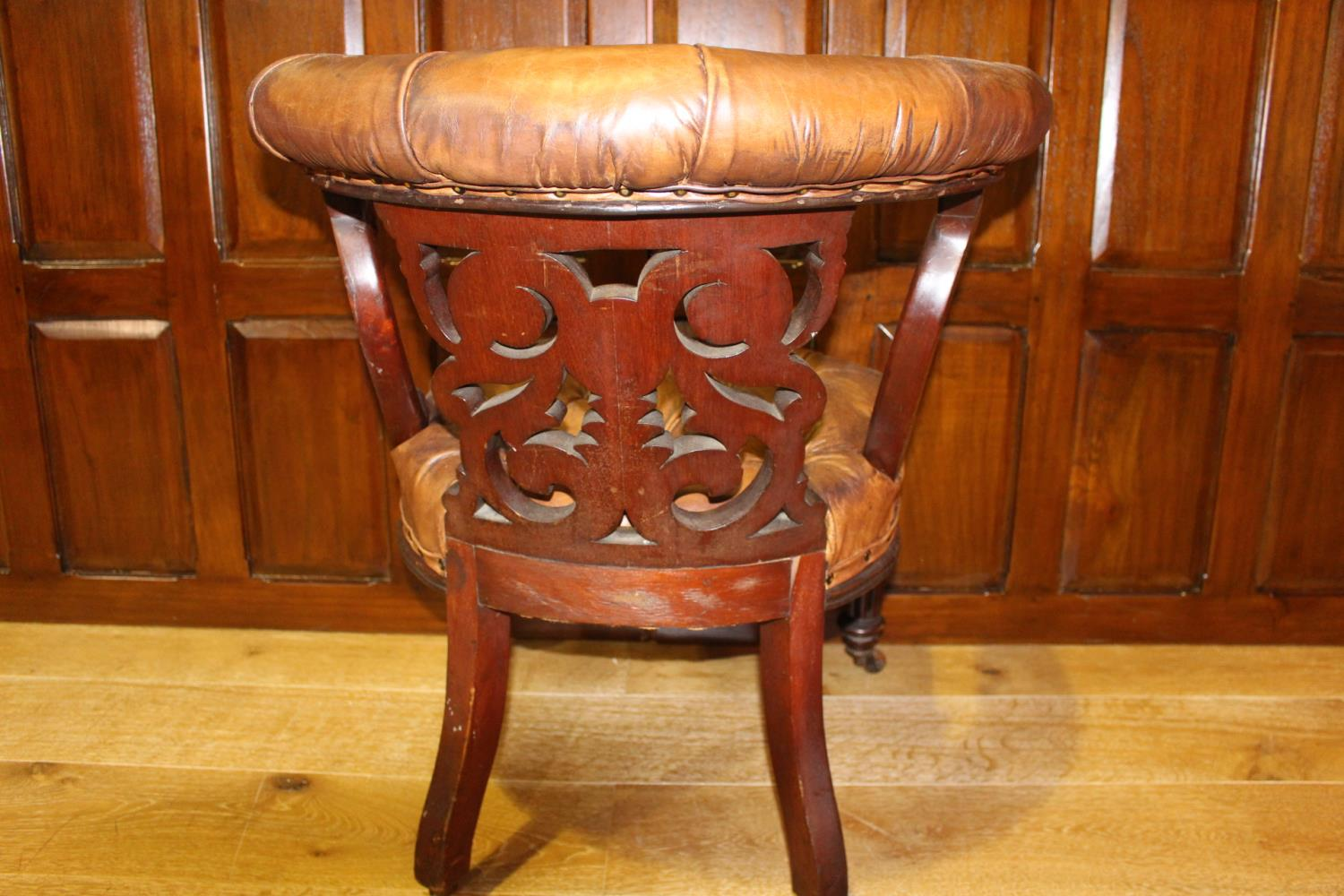 19th C. armchair - Image 3 of 3