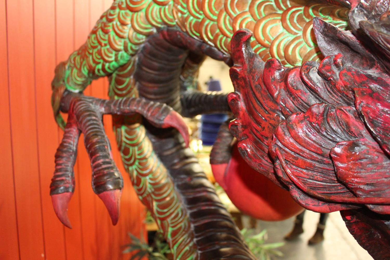 Model of a Dragon - Image 8 of 8
