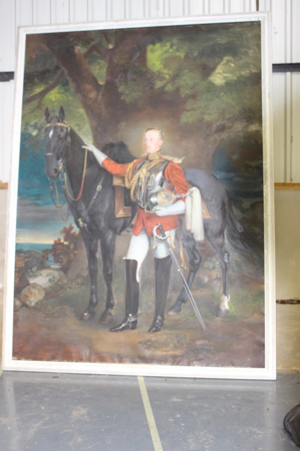 Oil on Canvas - Military Gentleman - Image 2 of 4