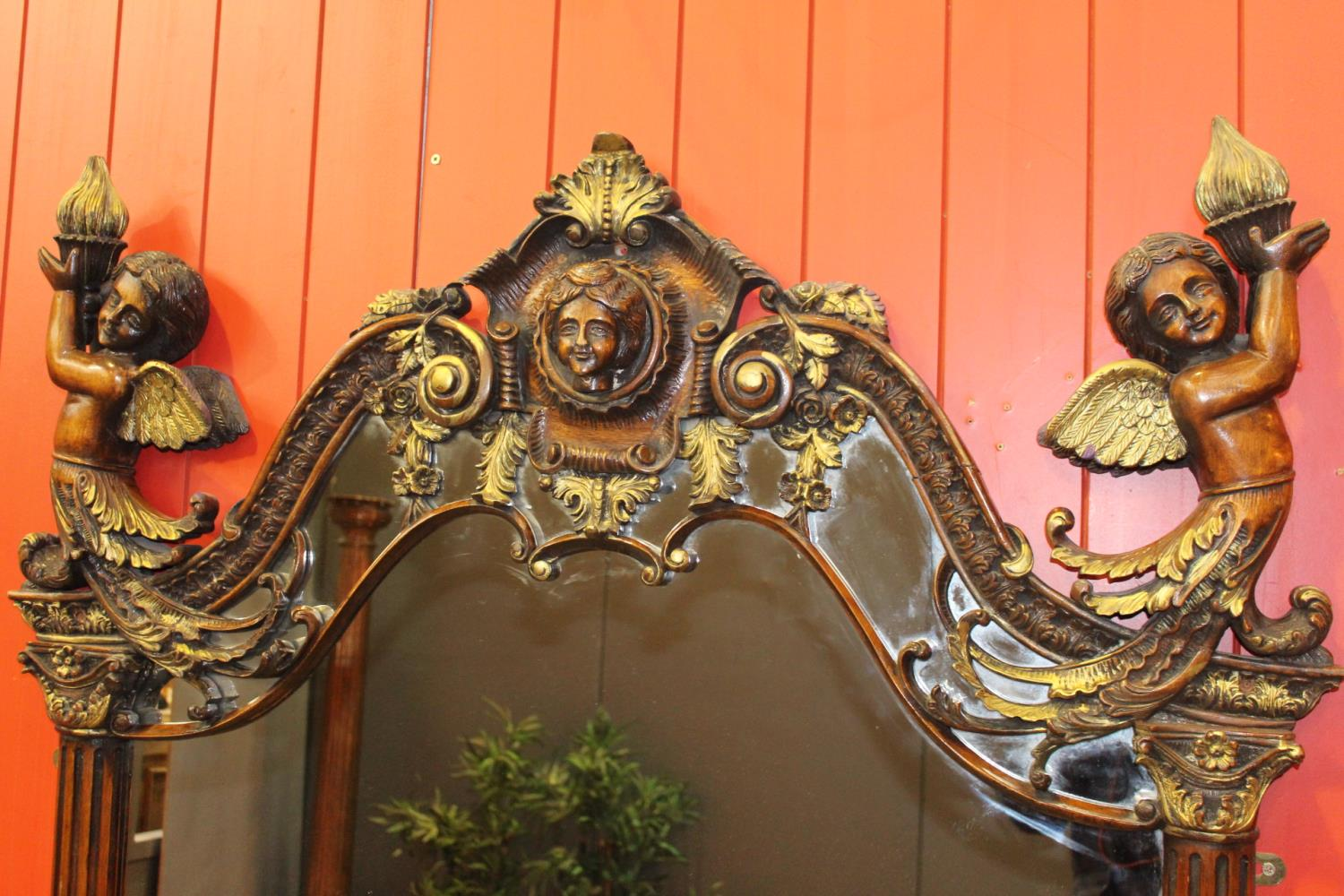 Giltwood mirror - Image 3 of 3