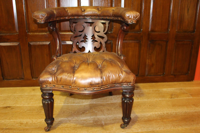 19th C. armchair