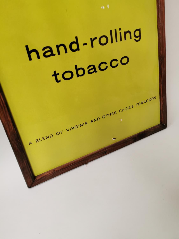 Golden Virginia Tobacco enamel advertising sign. - Image 3 of 3
