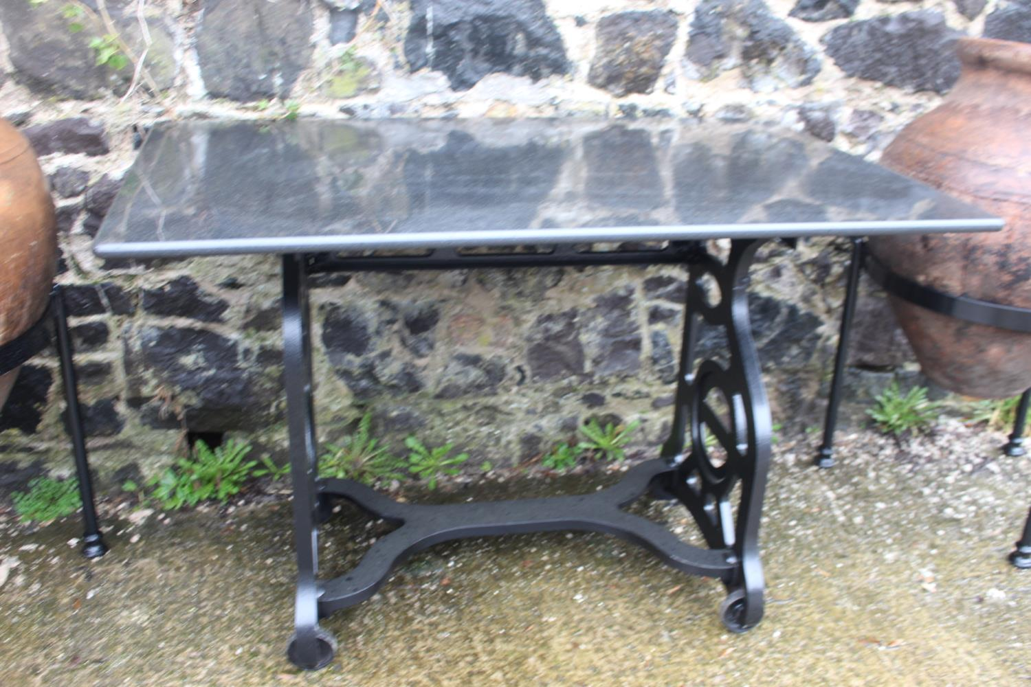 Cast iron Pioneer machine table