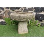 Small stone staddle stone