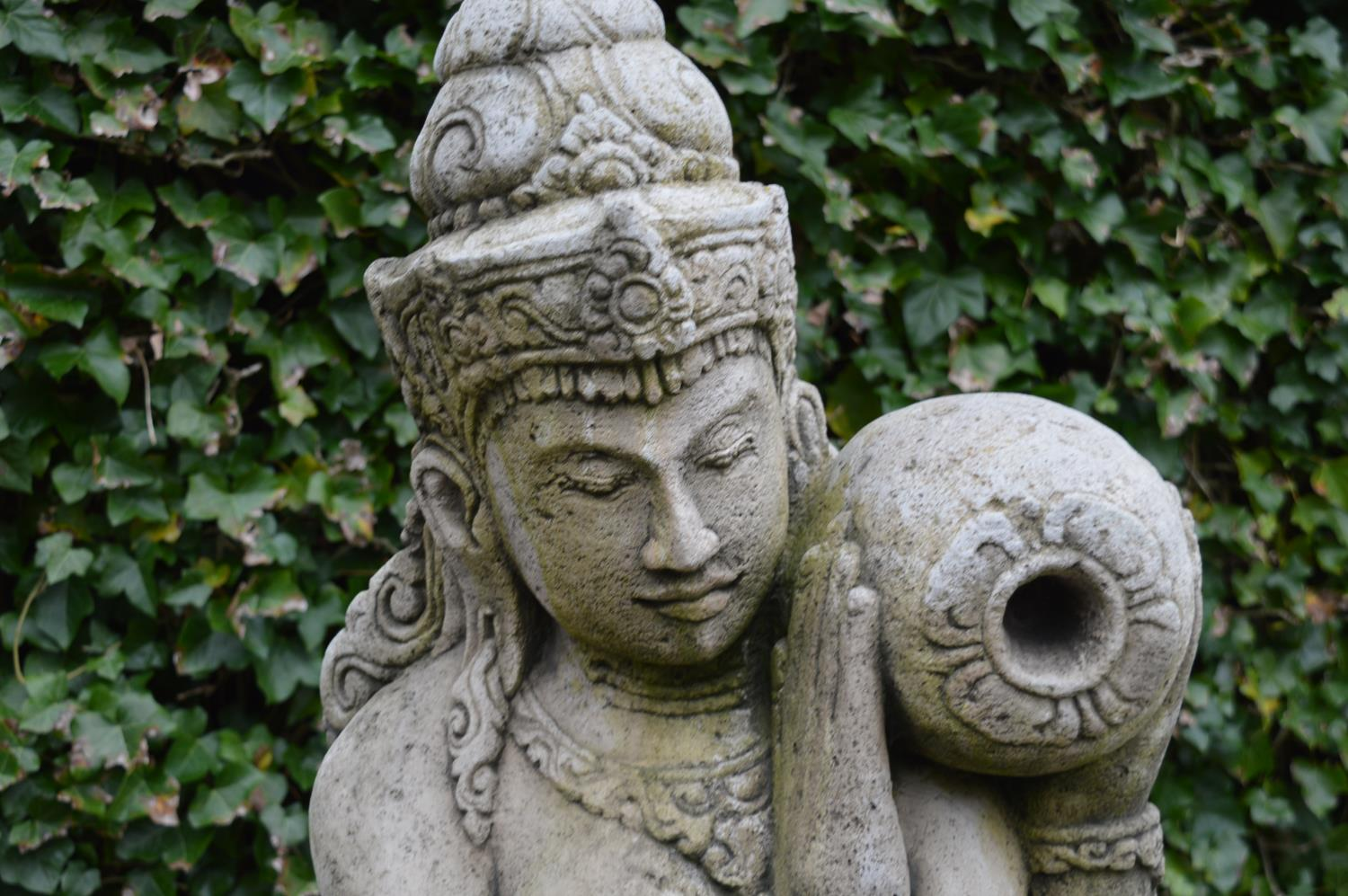 Composition model of an Indian goddess. - Image 3 of 3
