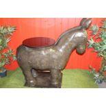 Stone model of a Donkey