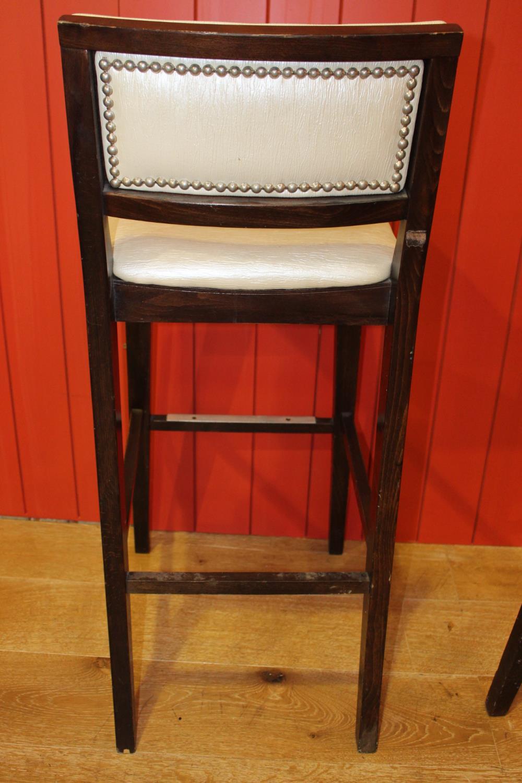 High back bar stool - Image 2 of 2