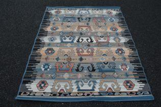 Decorative carpet square.