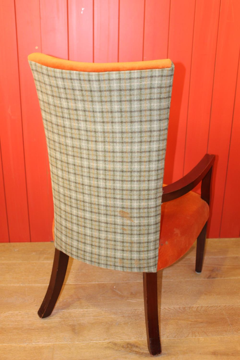 Upholstered armchair - Image 2 of 2
