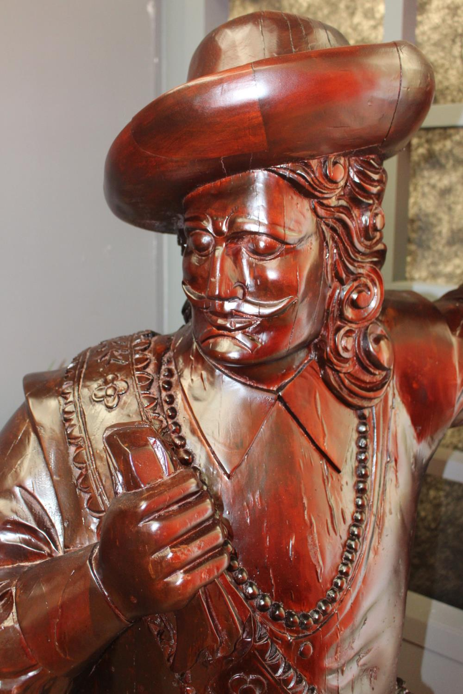Wooden figure of a Buccaneer - Image 2 of 2