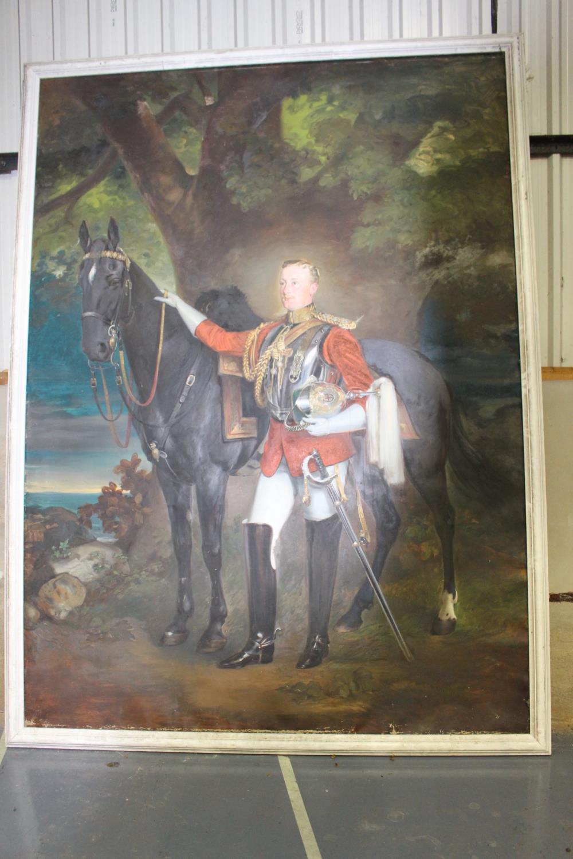 Oil on Canvas - Military Gentleman